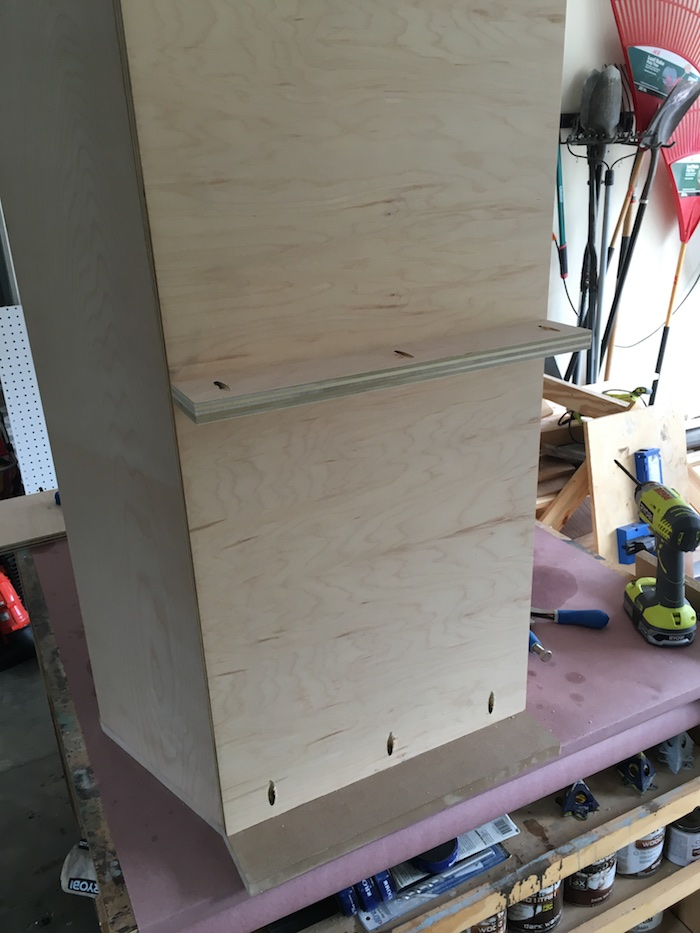 DIY Bookcase with Toy Storage Plans - Step 7