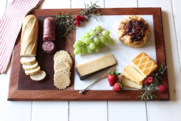 DIY Cutting Board with Cheese Plate - Rogue Engineer 3
