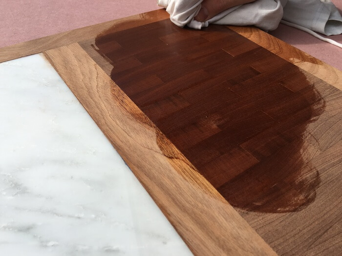 DIY Cutting Board with Cheese Plate - Step 10