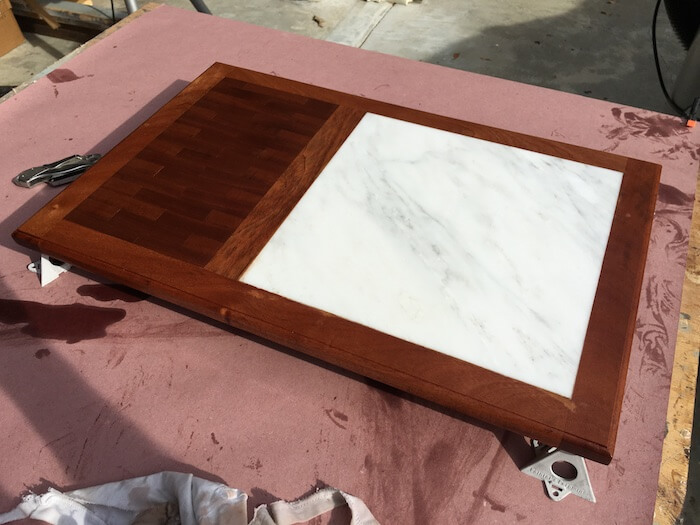 DIY Cutting Board with Cheese Plate - Step 11
