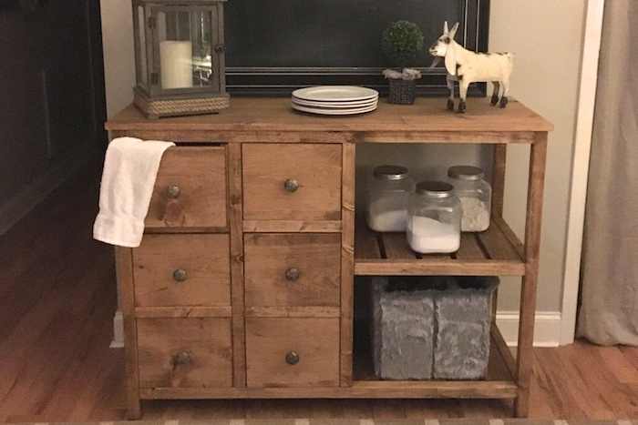 Emma Buffet Table Free Diy Plans Rogue Engineer