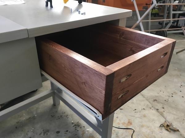 DIY Flip Top Vanity - Step 8