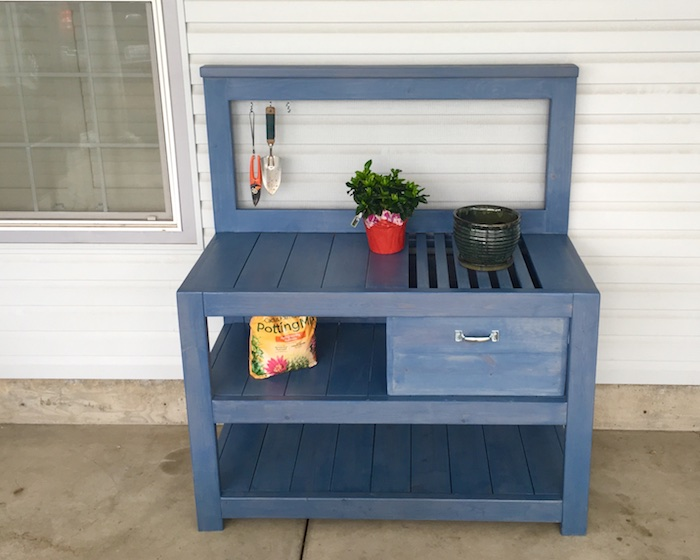 Diy Potting Bench Plans Rogue Engineer