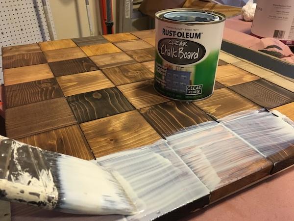DIY Wood Chalkboard Calendar - Step 6