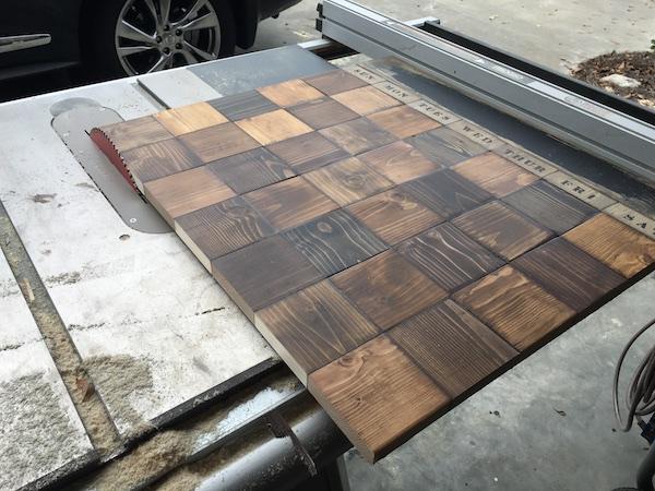 DIY Wood Chalkboard Calendar - Step 8