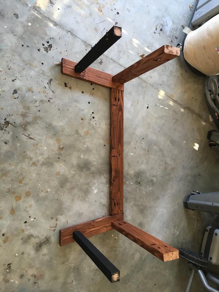 DIY Angled Coffee Table Plans - 4