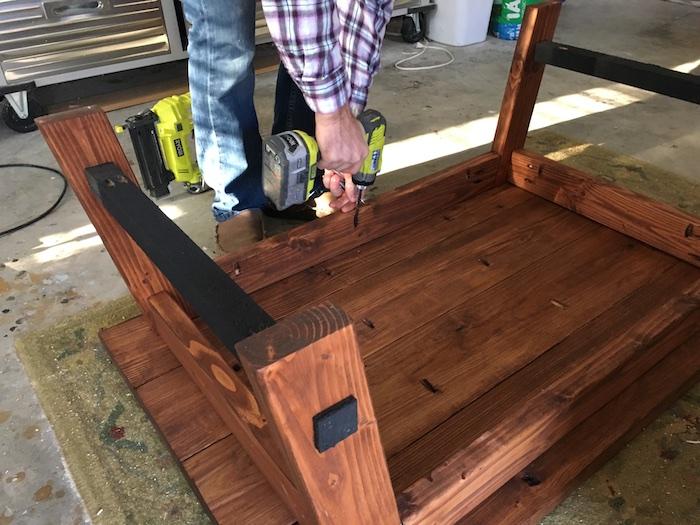 DIY Angled Coffee Table Plans - 6
