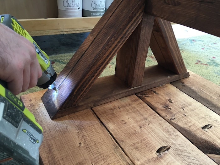 DIY Lybrook Side Table Plans - Step 6