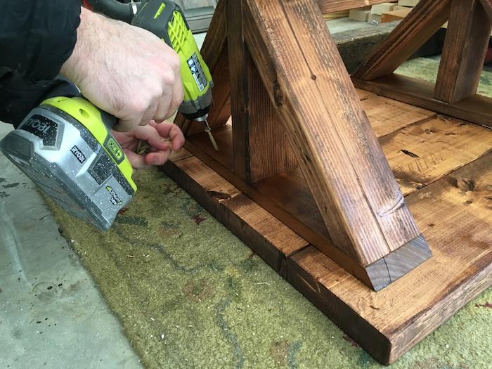 DIY Lybrook Side Table Plans - Step 7
