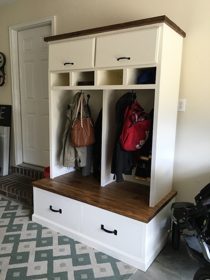 Mudroom Locker Plans - Step 26