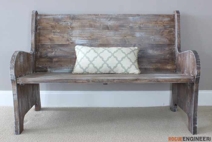 Farmhouse Bench Turquoise Farmhouse Bench Old Bench Rustic 26