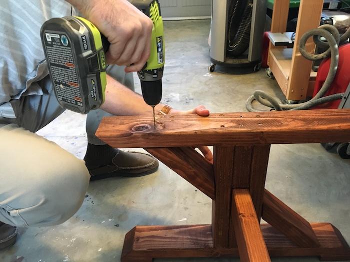 DIY Lybrook Coffee Table - 9 1