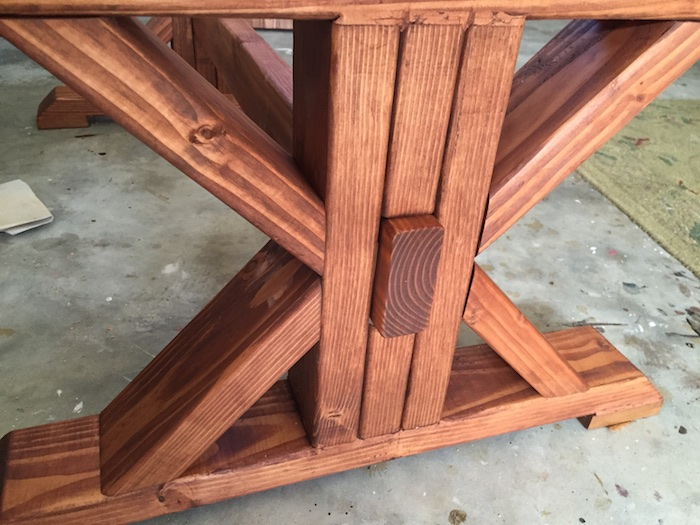 DIY Lybrook Coffee Table - 9 3