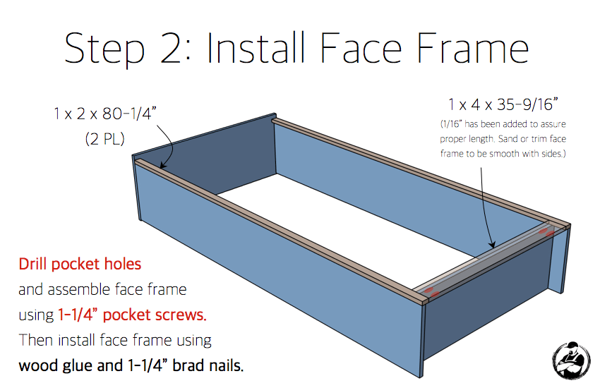 DIY Industrial Bookcase Plans - Step 2
