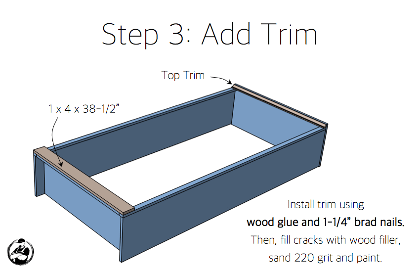 DIY Industrial Bookcase Plans - Step 3