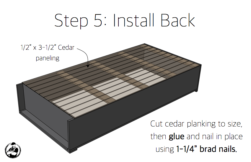 DIY Industrial Bookcase Plans - Step 5