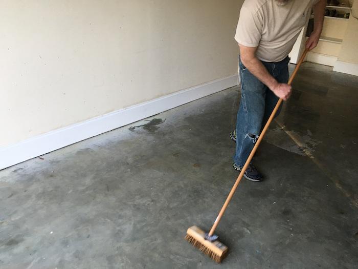 DIY Rock Solid Garage Floor Coating - 5