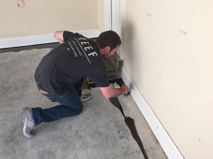 DIY Rock Solid Garage Floor Coating - 9