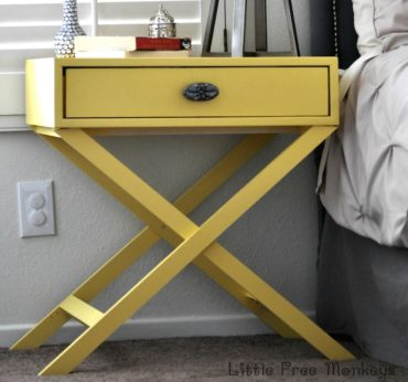 DIY X Base Accent Table Plans - Rogue Engineer