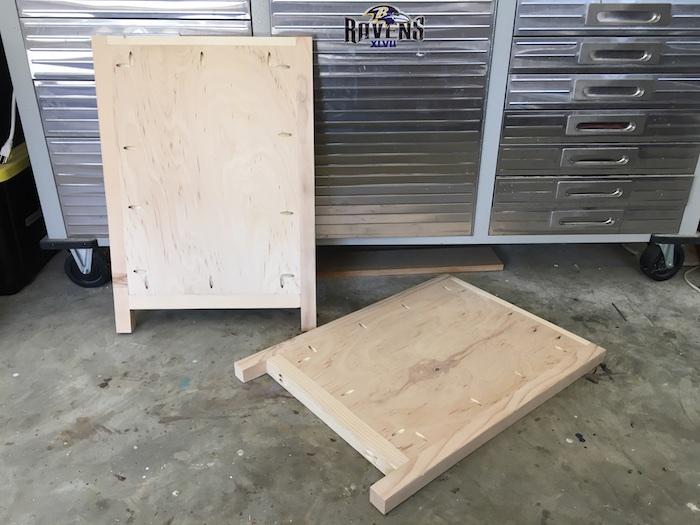 Simpson DIY Nightstand Plans - 1