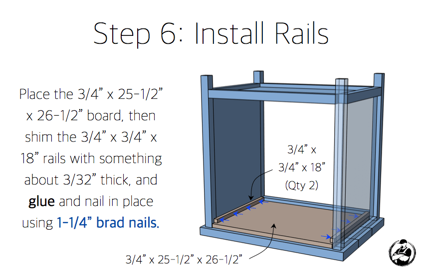 Simpson DIY Nightstand Plans - Step 6