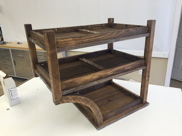 DIY Curved Side Table - 4