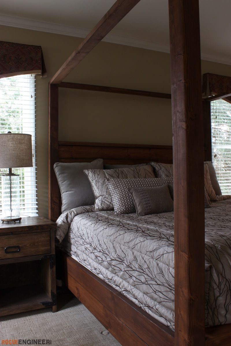 Picture of: Canopy Bed King Size Rogue Engineer