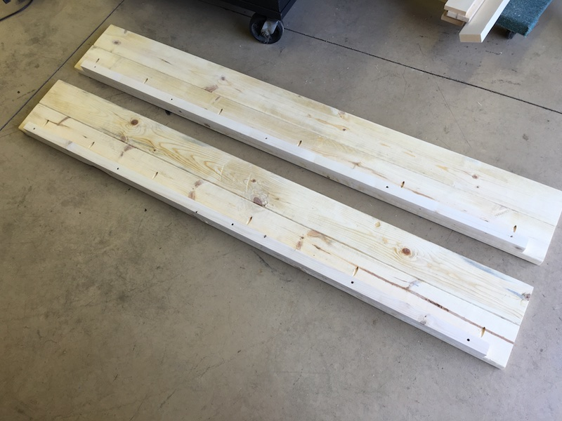 DIY King Size Canopy Bed - Step 4