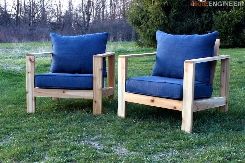 Merveilleux DIY Outdoor Lounge Chair Plans   Rogue Engineer