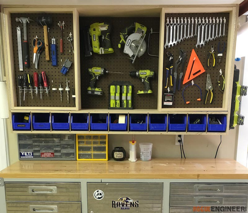 Tool Storage Wall Cabinet 187 Rogue Engineer