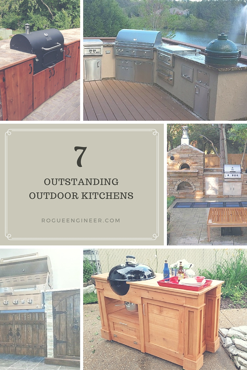 7 OUTSTANDING OUTDOOR KITCHENS