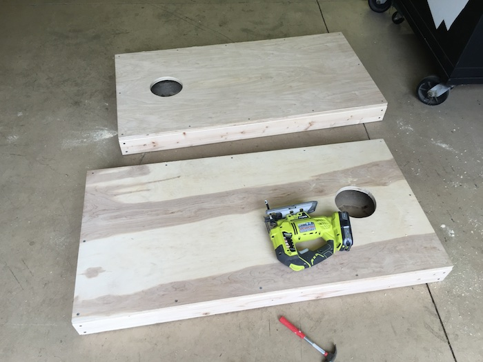 DIY Corn Hole Boards Plans - Rogue Engineer 16