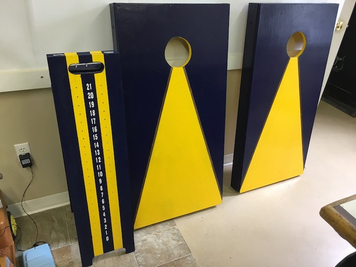 DIY Corn Hole Boards Plans - Rogue Engineer 18