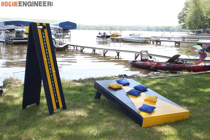 DIY Cornhole Board Plans - Rogue Engineer 2