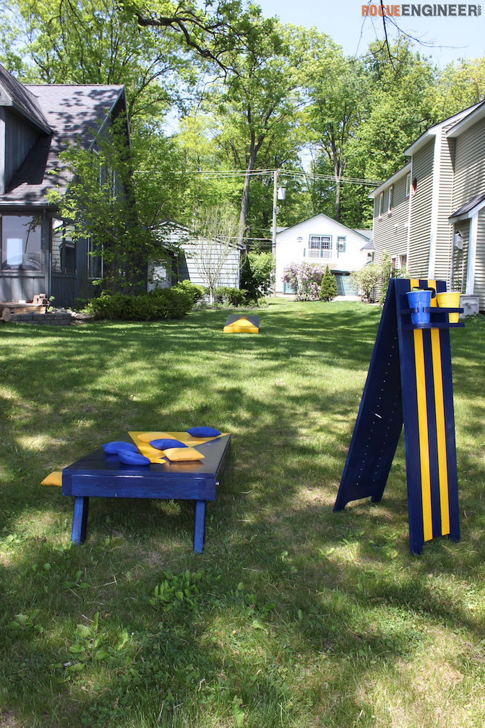 DIY Cornhole Board Plans - Rogue Engineer 3