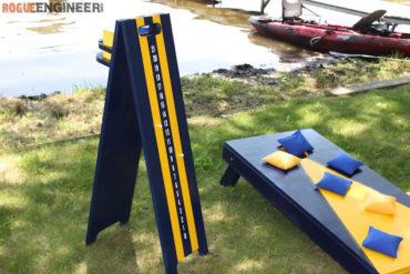 DIY Cornhole Scoreboard Plans - Rogue Engineer 1