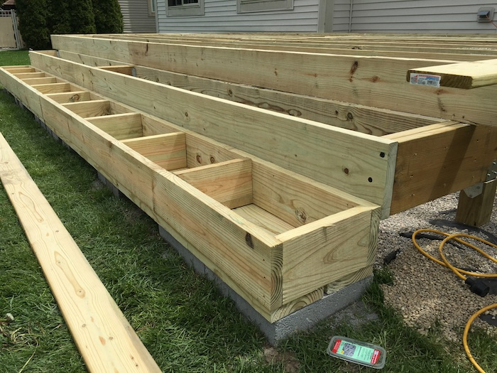 DIY Floating Deck Plans - Rogue Engineer 15