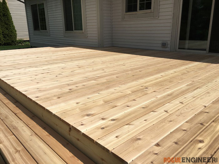 Stand Alone Deck Designs : How to build a floating deck rogue engineer