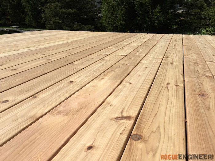 DIY Floating Deck Plans - Rogue Engineer 21