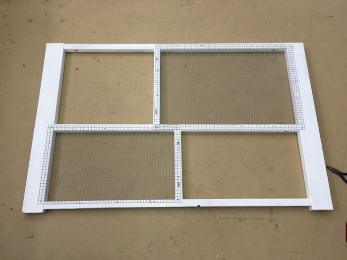 DIY Rabbit Hutch Plans - Step 7
