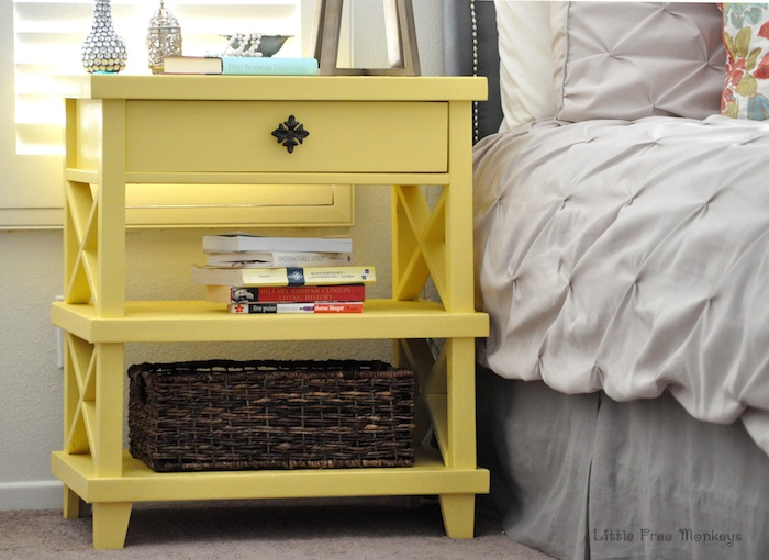 Elegant Lattice Bedside Table Great Ideas