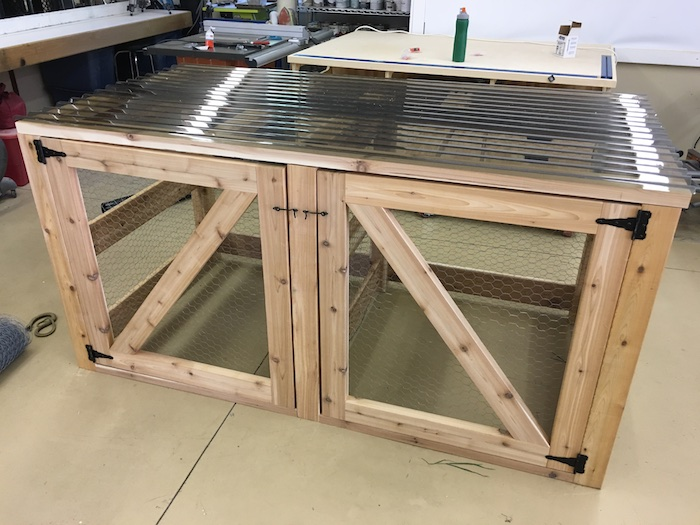 DIY Double Compost Bin Plans - 6