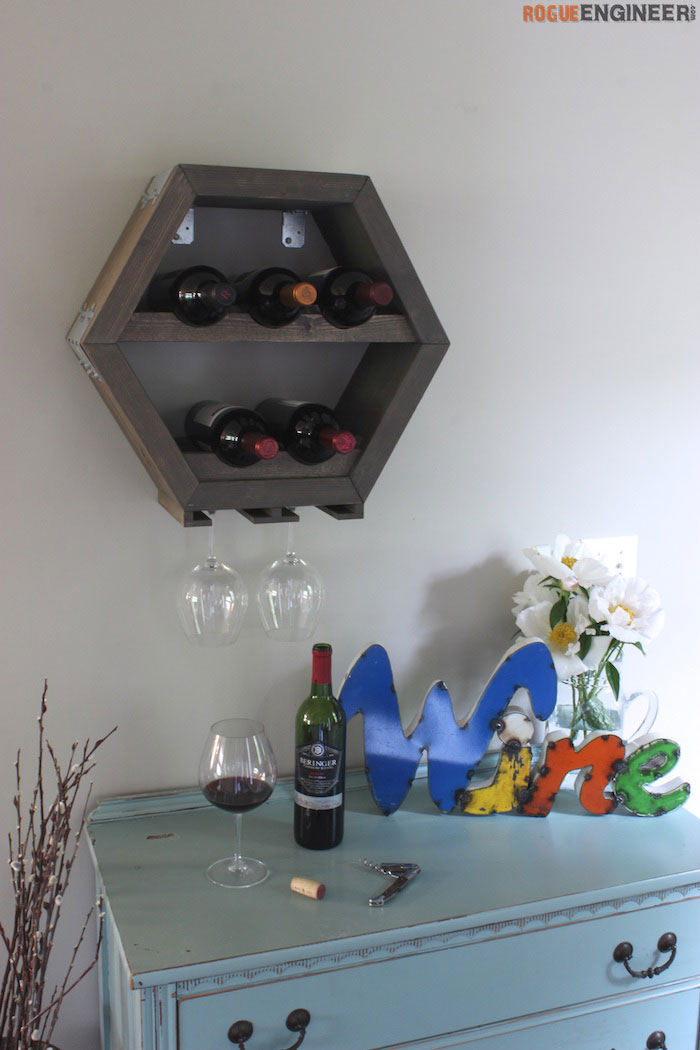 DIY Hex Wine Storage Plans - Rogue Engineer 1 (1)