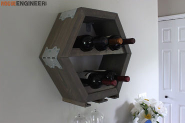 DIY Hex Wine Storage Plans - Rogue Engineer 2 (1)