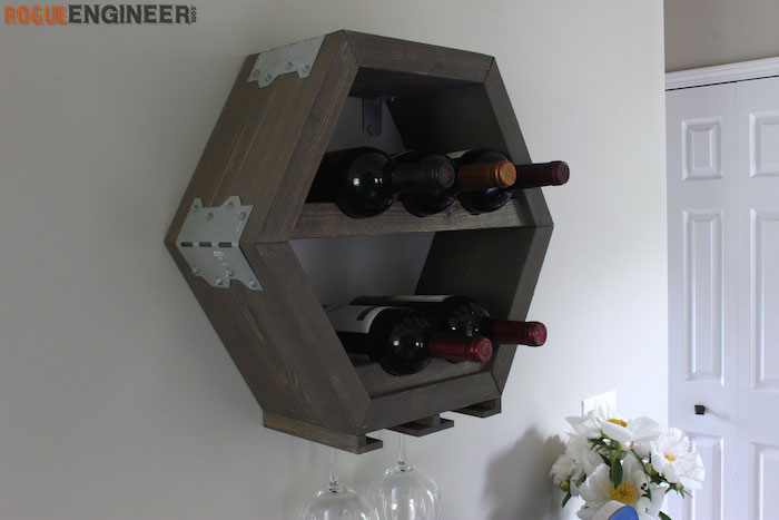 DIY Hex Wine Storage Plans - Rogue Engineer 2 (1)