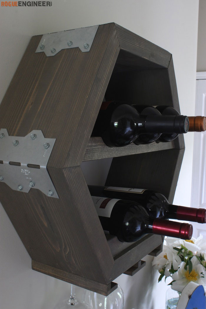 DIY Hex Wine Storage Plans - Rogue Engineer 3 (1)