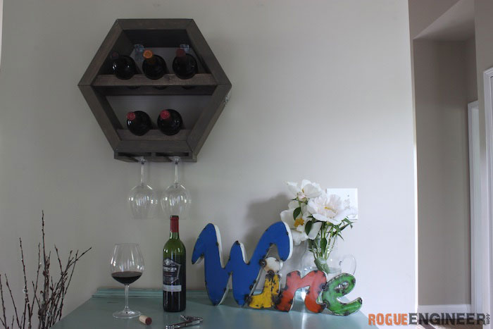 DIY Hex Wine Storage Plans - Rogue Engineer 5 (1)