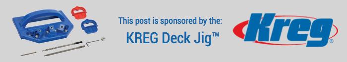 Kreg Deck Jig Banner