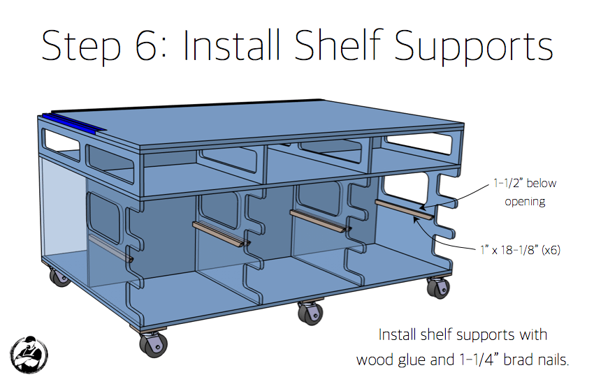 Ultimate DIY Workstation Plans - Step 6