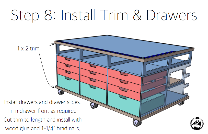 Ultimate DIY Workstation Plans - Step 8